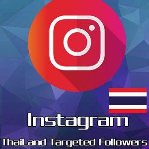 instagram thailand followers
