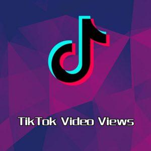 TikTok video views